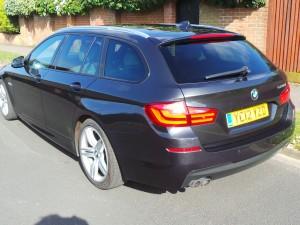 GREY BMW 5 SERIES